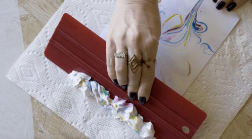 remove-shaving-cream-diy-stationery-marbling-craft-tuturial
