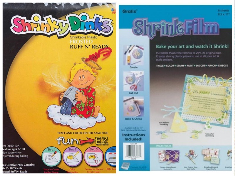 which is better shrinky dink paper or grafix shrink film