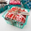 strawberry tea towel and other tea towels