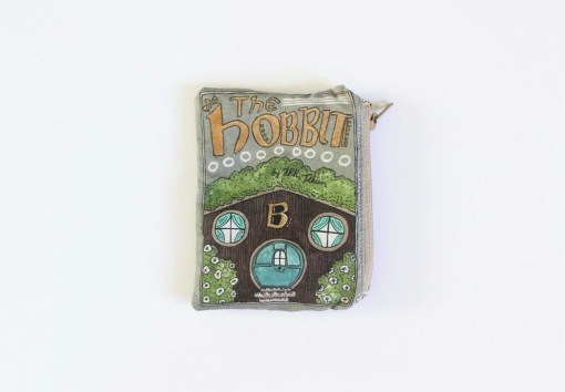 the hobbit book coin purse