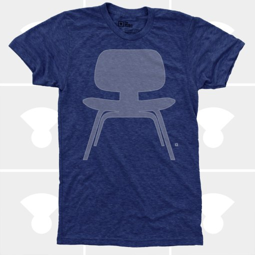 eames chair t-shirt men's handmade t-shirts by medium control