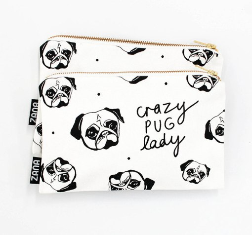 crazy-pug-lady-canvas-dog-clutch-pop-shop-america