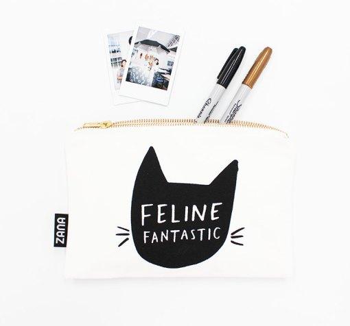 feline fantastic - cat clutch purse pop shop america handmade