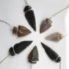agate arrowhead necklaces & obsidian arrowhead necklace pop shop america