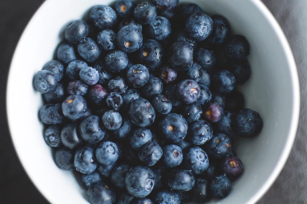 blueberries for vanilla bean blueberry muffins recipe