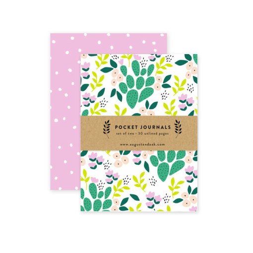 bright and sunny cactus notebook pop shop america