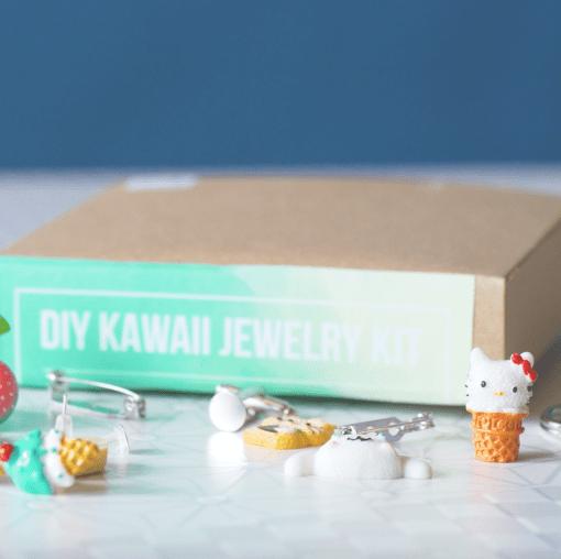 make your own kawaii jewelry diy kit