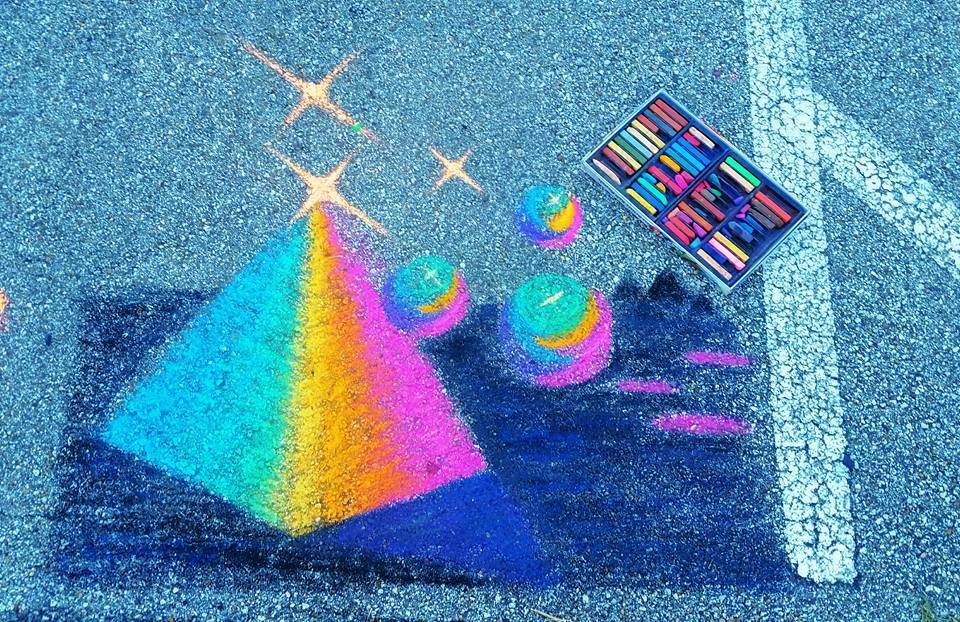Lindsay Burck_Sidewalk Art
