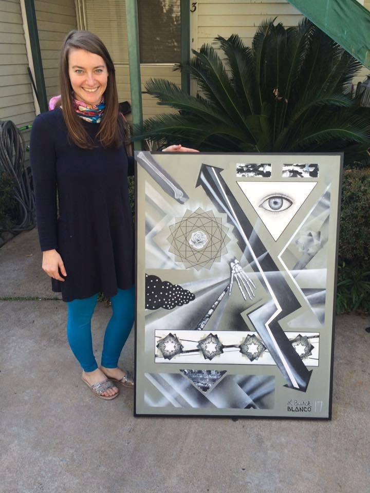 Lindsay Burck_Silver Prisms_Artist Image