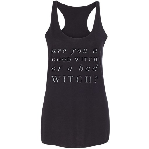 are you a good witch or bad witch tank top pop shop america