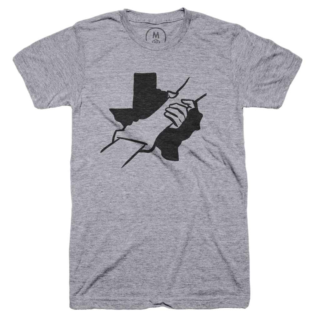 let's do it for texas t-shirt houston food bank charity tshirt
