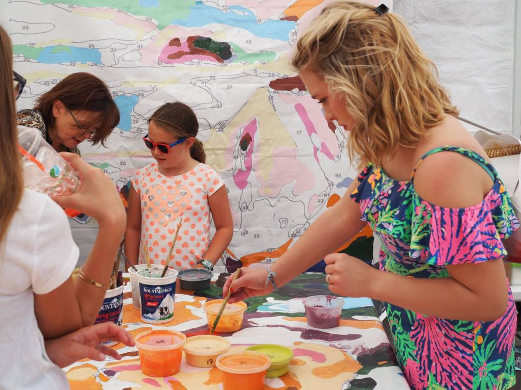 open studios painting party at firefly festival boulder