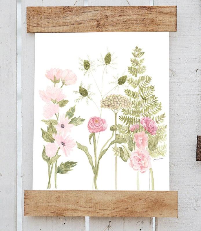 Anna Liisa moss art print boerne handmade market