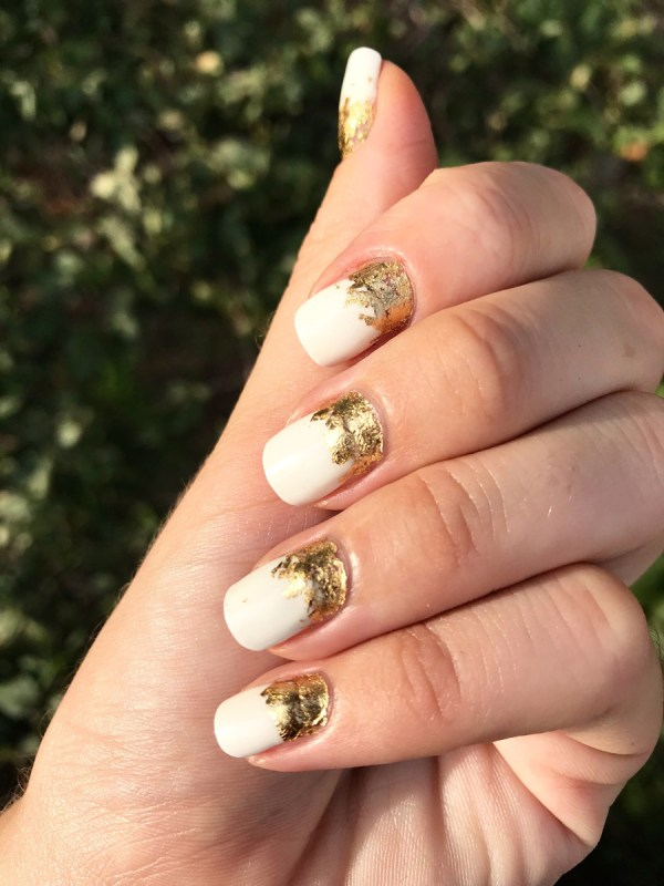 Gold Leaf Manicure