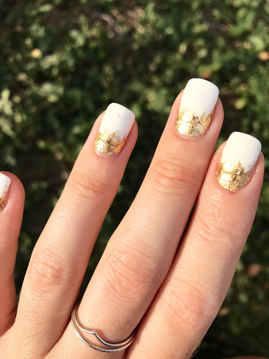 Golf Leaf Manicure