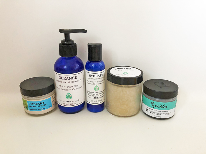Natural cleansers and deodorants