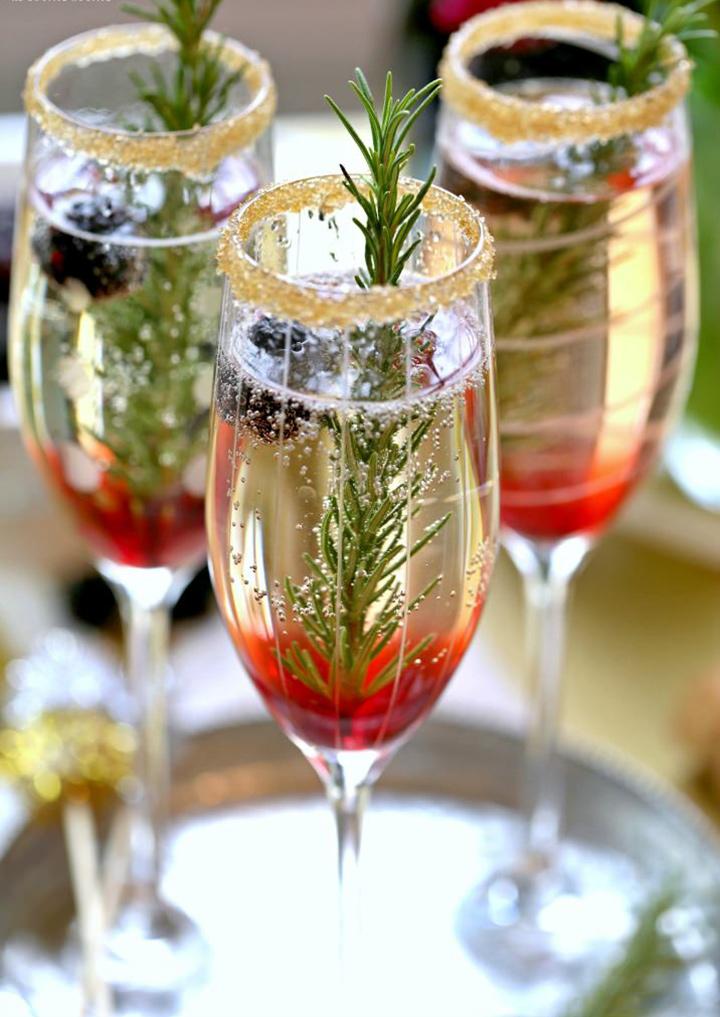 blackberry sparkling holiday cocktails pop shop america