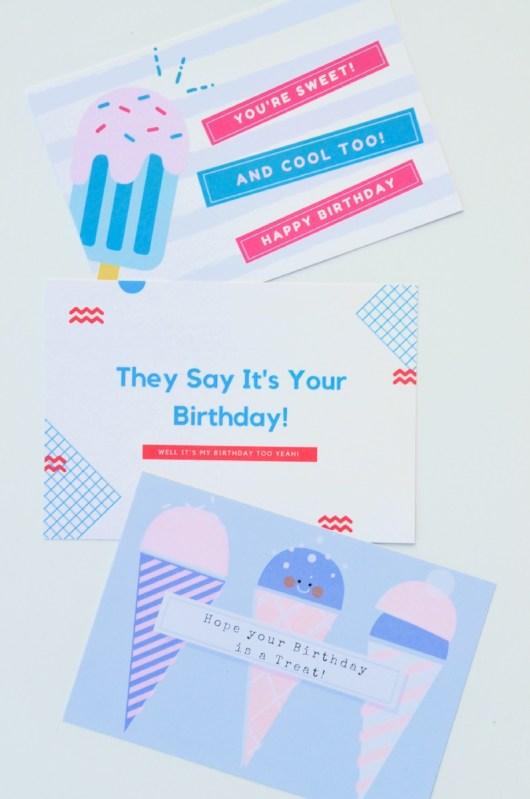 Free Printable Birthday Cards Pop Shop America