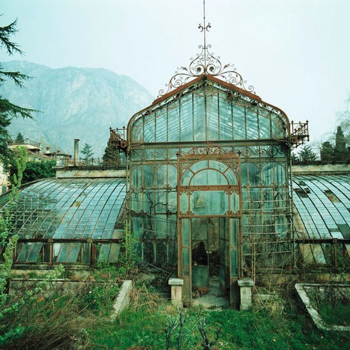 gorgeous abandoned greenhouse europe best conservatories