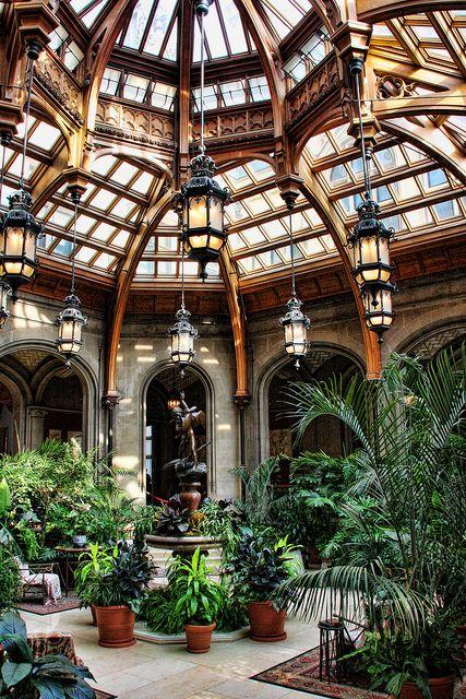 indoor garden atrium by pop shop america