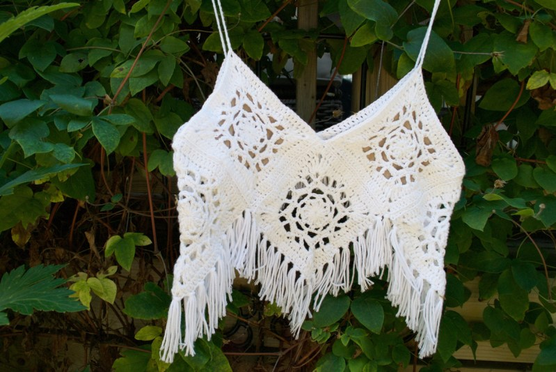 Boho Crochet Crop Top Diy