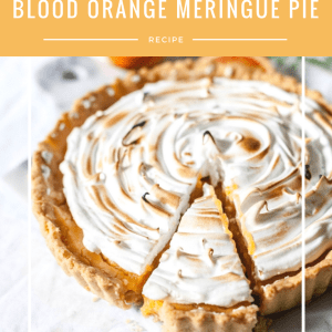 blood orange meringue pie recipe pinterest
