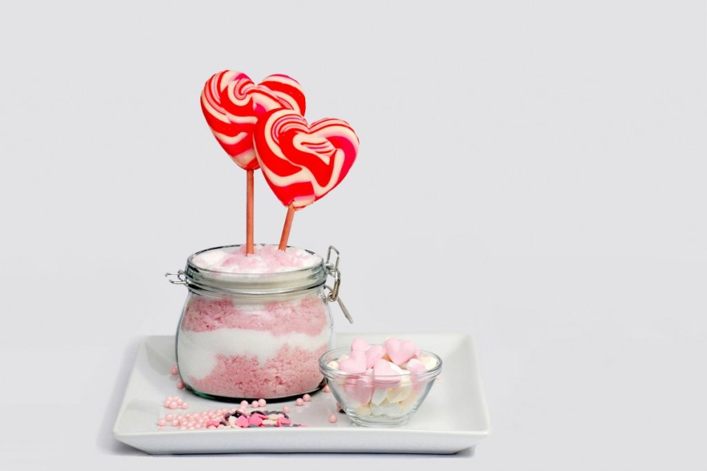 DIY Bubble Gum Sugar Scrub