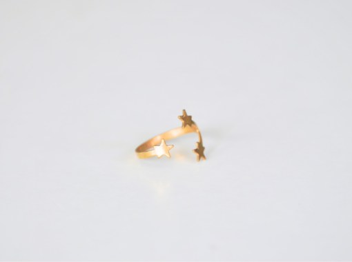 stylish-brass-jewelry-star-ring-modern goods-pop-shop-america