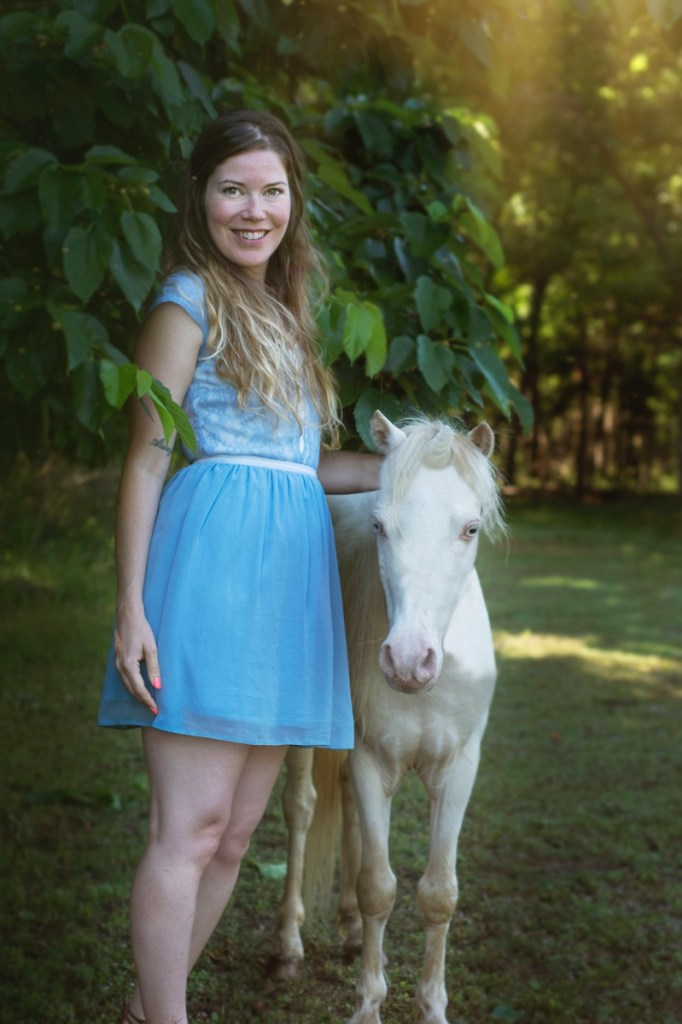 brittany bly magical unicorn photograph series