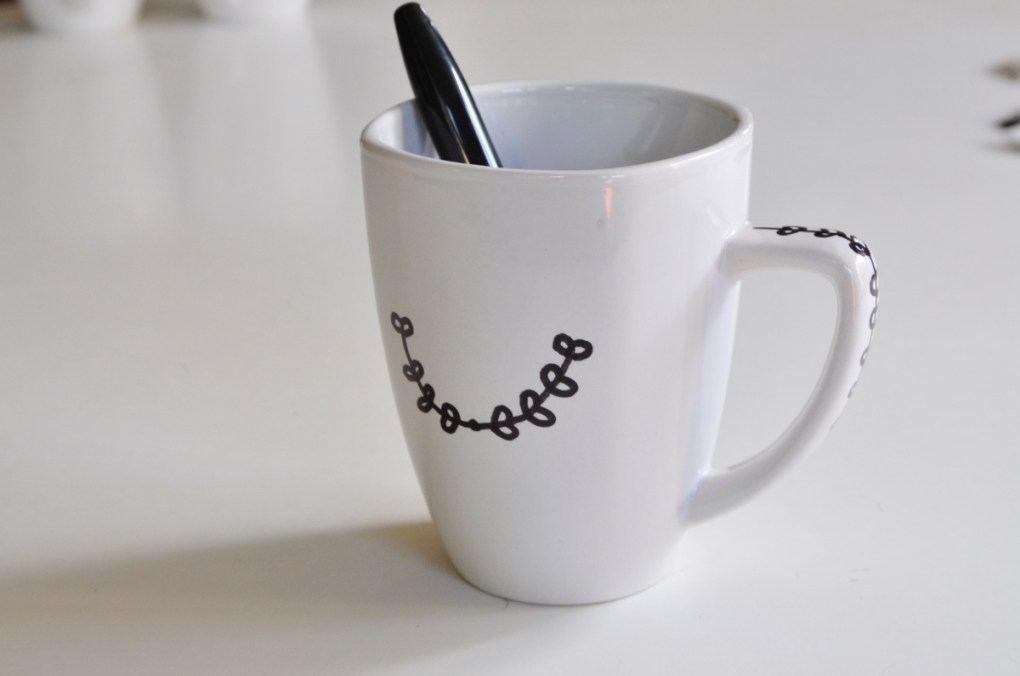 diy sharpie coffee mug craft pop shop america