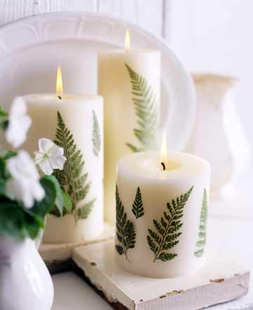 fern leaf candle tutorial pop shop america