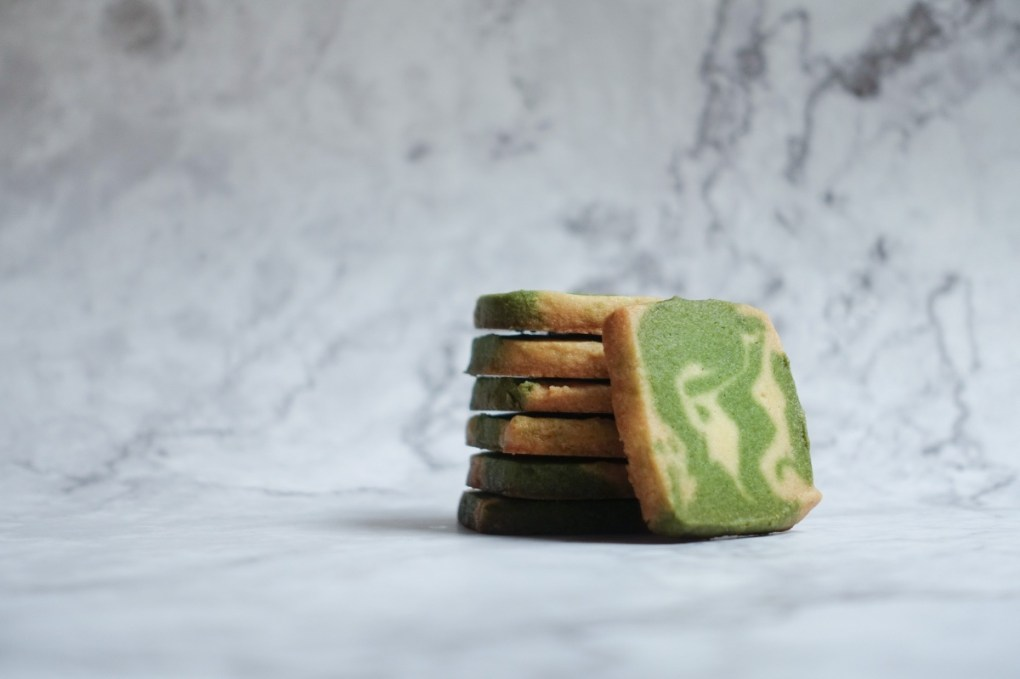 marbled vanilla and green tea cookies pop shop america