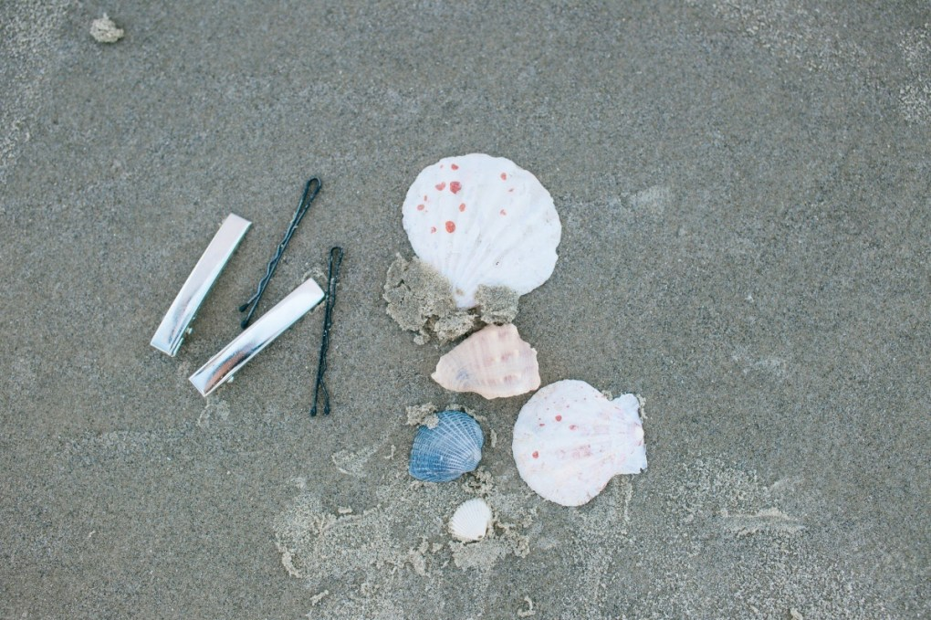 supplies to make diy seashell hair clips pop shop america