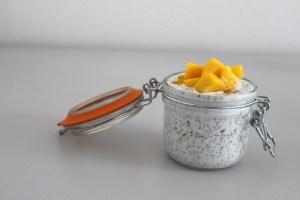 Mango Vanilla Chia Seed Pudding