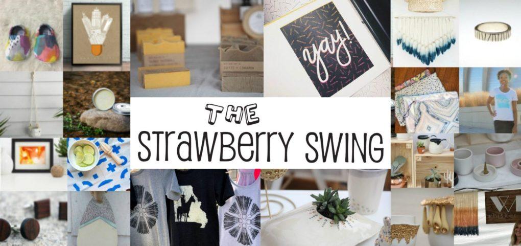 strawberry swing indie craft fair