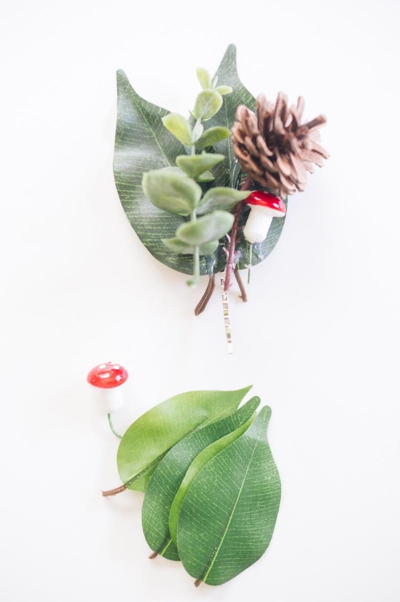 finished succulent hair barrette pop shop america
