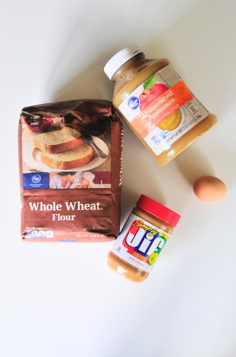 supplies for peaunut butter dog treats