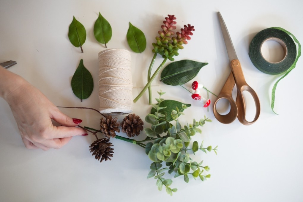 supplies to make diy succulent boutonnieres
