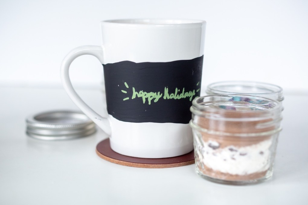 chalkboard lettered mugs finished best lettering tips