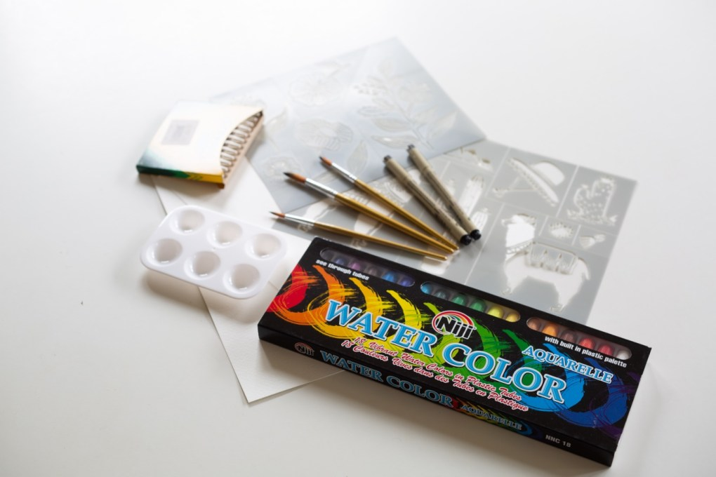 what's inside your watercolor craft in style arts and crafts subscription box