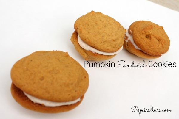Pumpkin Sandwich Cookies