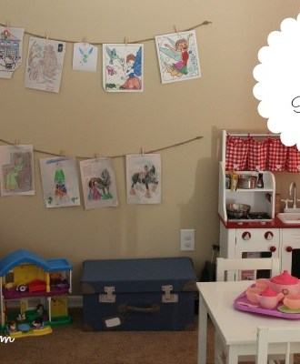 An IKEA Playroom