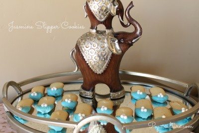 Jasmine Slipper Cookies