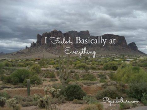 I Failed, Failure and Success