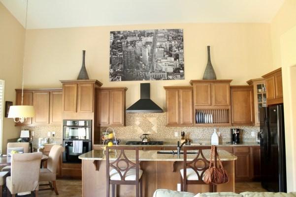 Arizona Spanish Turret Kitchen