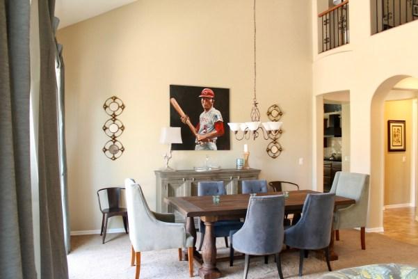 Arizona Spanish Turret Dining Room