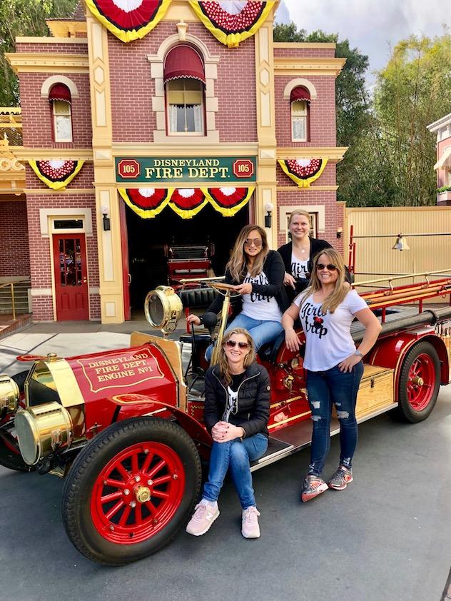 Disneyland Fire Station