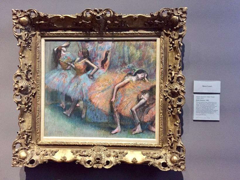 Ballet Dancers, Degas