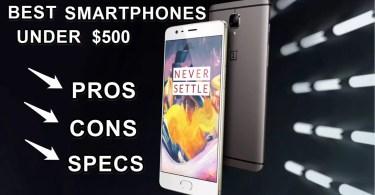 top 10 best smartphones under 500$