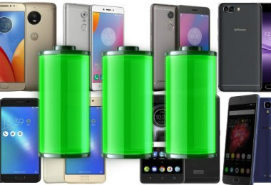 Smartphone with best battery life